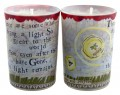 the light remains tiny votive candle