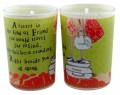 sister tiny votive candle