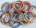 recycled plastic bangles-set of 5