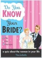 do you know your bride? quiz book