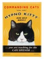 hypno kitty retro pet magnet