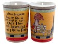 live in paris tiny votive candle